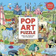 Pop Art Puzzle - Illustrations by Andrew Rae