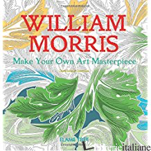 WILLIAM MORRIS MAKE YOUR OWN ART MASTERPIECE - FLAME TREE