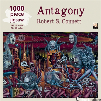 Robert S Connett:  Antagony jigsaw Puzzle - Flame Tree