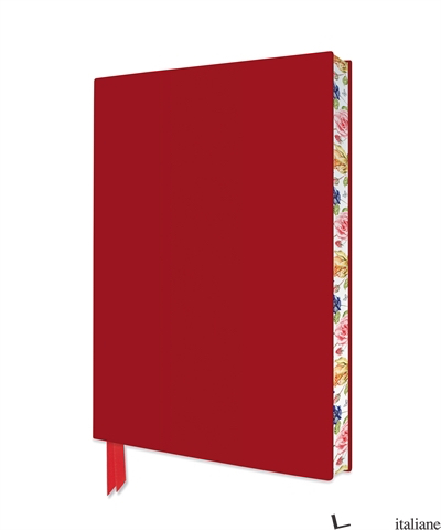 Artisan Red Notebook - FLAME TREE