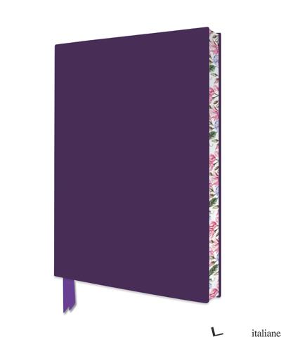 Artisan Purple Notebook - FLAME TREE