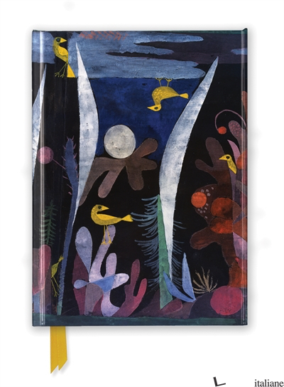Paul Klee: Landscape with Yellow Birds - FLAME TREE