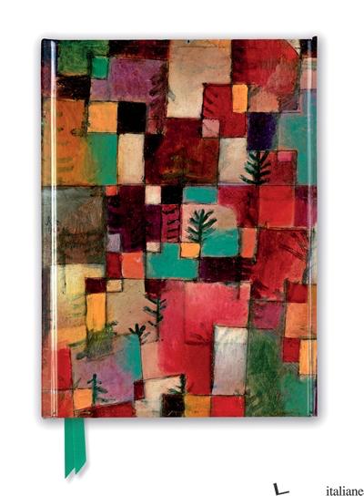 Paul Klee: Redgreen & Violet-Yellow Rhythms - FLAME TREE