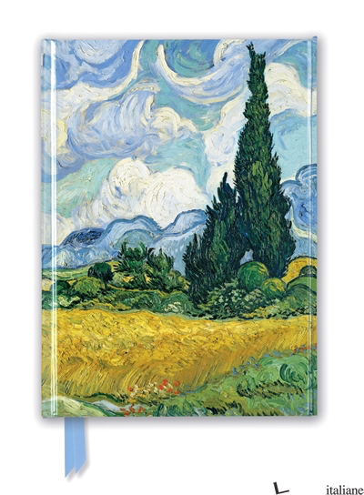 Van Gogh: Wheat Field with Cypresses - FLAME TREE