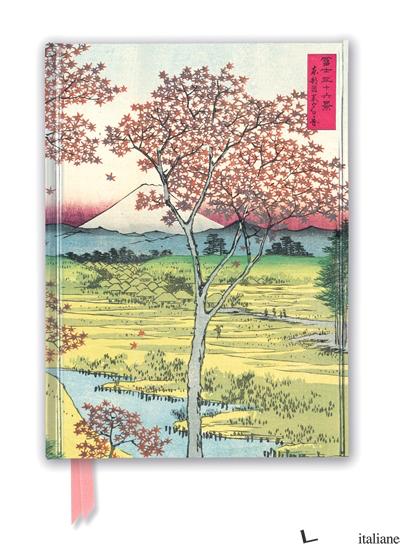 Hiroshige: Twilight Hill - FLAME TREE