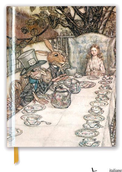 Arthur Rackham: Alice in Wonderland Tea Party - FLAME TREE