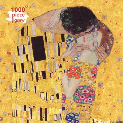 Gustav Klimt: The Kiss - Flame Tree