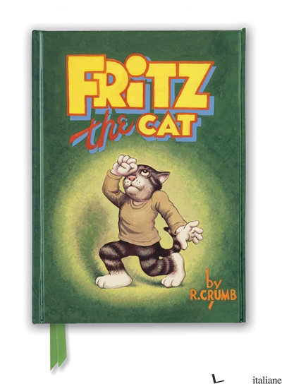 Luxury Journal R. Crumb: Fritz the Cat (FTNB 227) - Flame Tree