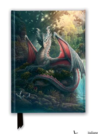 Luxury Journal Kerim Beyit: Mama Leaf Dragon (FTNB234) - Flame Tree