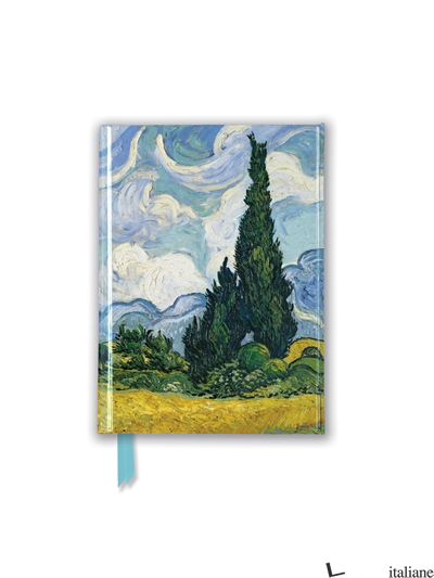 Pocket NB Vincent Van Gogh: Wheat Field with a Cypresses (FTPB 89) - Flame Tree