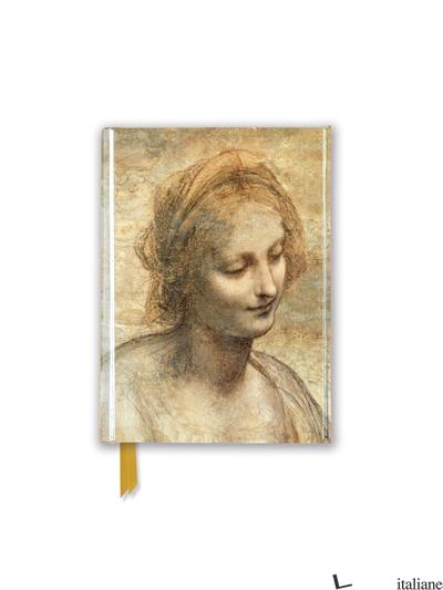 Pocket NB Leonardo Da Vinci: Detail of the Head of the Virgin (FTPB 96) - Flame Tree