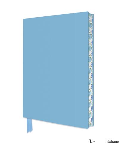 Artisan Duck Egg Blue Notebook - Flame Tree