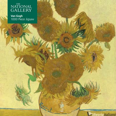 Jigsaw National Gallery: Vincent van Gogh: Sunflowers (FTJP 27) - Flame Tree