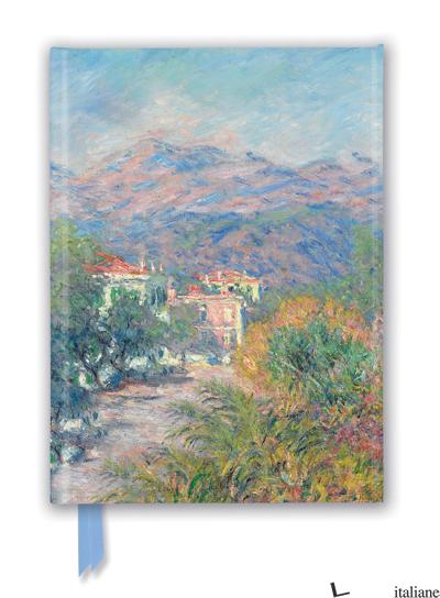 Luxury Journal Cluade Monet: Roman Road at Bordighera (FTNB 251) - Flame Tree