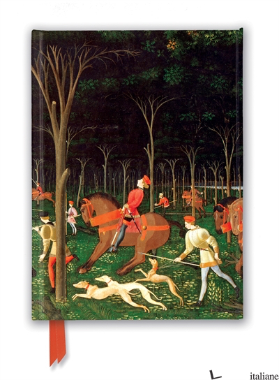 Luxury Journal Ashmolean Museum: Paolo Uccello The Hunt (FTNB 253) - Flame Tree