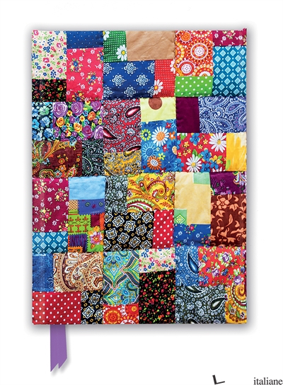 Luxury Journal Patchwork Quilt (FTNB 256) - Flame Tree