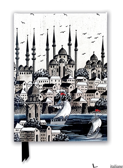 Luxury Journal Constantinople Silver (FTNB 258) - Flame Tree