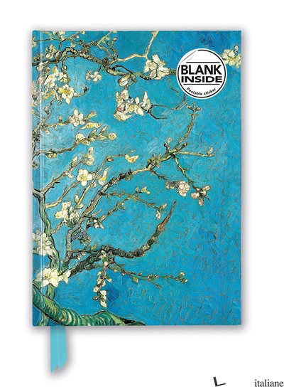 Luxury Blank Journal Vincent Van Gogh: Almond Blossom (FTNBB05) - Flame Tree