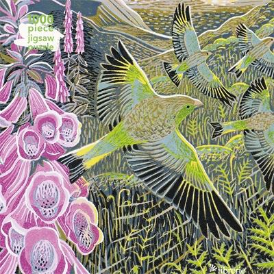 Annie Soudain: Foxgloves and Finches - Flame Tree