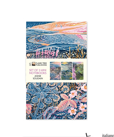 Annie Soudain Mini Notebook Collection - Flame Tree