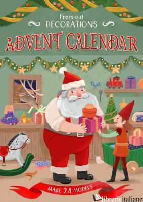 Press-Out Decorations: Advent Calen - Aa.Vv