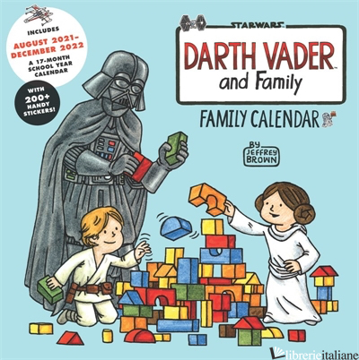 Star Wars Darth Vader and Family 2022 Wall Calendar - Created by LucasFilm Ltd.