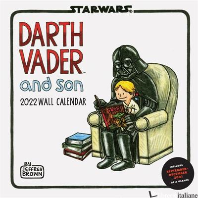 Star Wars Darth Vader and Son 2022 Wall Calendar - Created by LucasFilm Ltd.