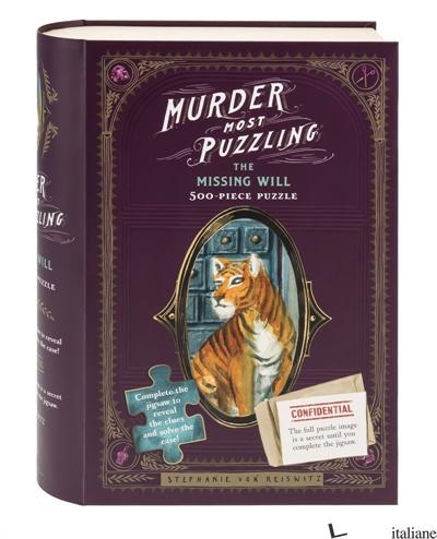 Murder Most Puzzling The Missing Will 500-Piece Puzzle - Stephanie von Reiswitz