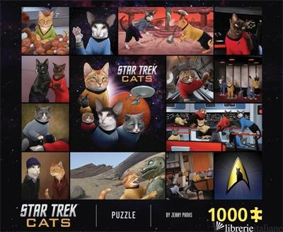 Star Trek Cats 1000-Piece Puzzle - CHRONICLE