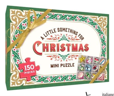 A Little Something for Christmas 150-Piece Mini Puzzle - Lea Redmond