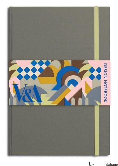 V&A Design Notebook Constable grey - VEA Publishing