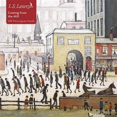 L.S. Lowry: Coming from the Mill - Flame Tree