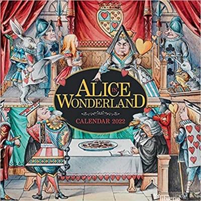 Science Museum: Alice in Wonderland Wall Calendar 2022 - Flame Tree