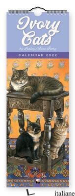Ivory Cats Slim Calendar 2022 (Art Calendar) -