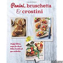 Panini, Bruschetta & Crostini -