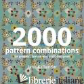 2000 PATTERN COMBINATIONS - Jane Callender