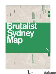 Brutalist Sydney Map - Harper, Glenn