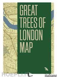 Great Trees of London Map - Wood, Paul E Lamberton, Derek