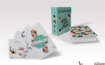 Will & Grace Playing Cards - illustrated by Chantel de Sousa