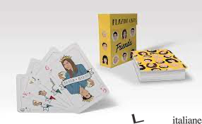 Friends Playing Cards - illustrated by Chantel De Sousa