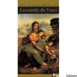 LEONARDO DA VINCI THE LITTLE BOOK OF - RENAUD TEMPERINI