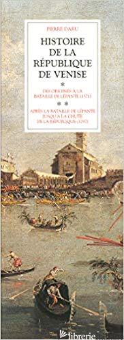 Coff 2V Hist Republique Venise - Daru Pierre