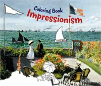 COLORING BOOK IMPRESSIONISM  - ANNETTE ROEDER