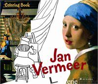 COLORING BOOK VERMEER - JAN VERMEER