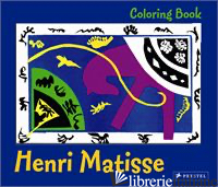 COLORING BOOK MATISSE - PRESTEL
