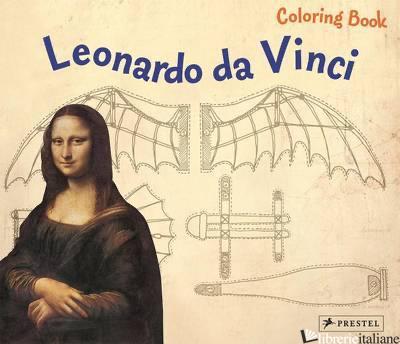 Coloring Book Leonardo Da Vinci - ANNETTE ROEDER
