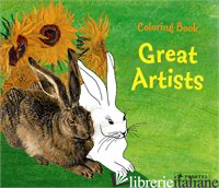 COLORING BOOK GREAT ARTISTS - ROEDER, ANNETTE