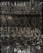 All-American Xii: Book Of Lessons Pb -