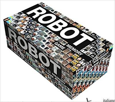 Robot memory game - Mieke Gerritzen