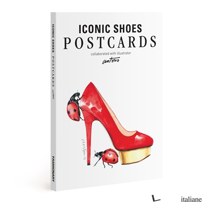 FASHIONARY ICONIC SHOE POSTCARDS BOOK - FASHIONARY